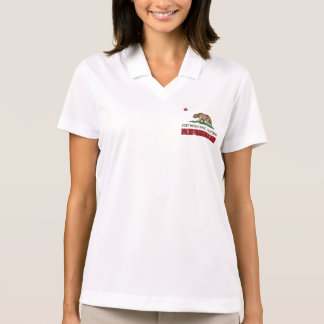 California Republic Flag West Menlo Park Polo Shirt