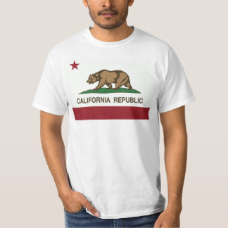 California Republic Llevar camiseta moda T-Shirt