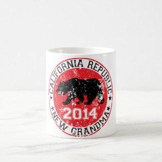 california republic new grandma 2014 coffee mug