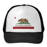 California Republic Official State Flag Trucker Hat