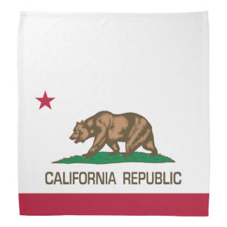 California Republic (State Flag) Bandana