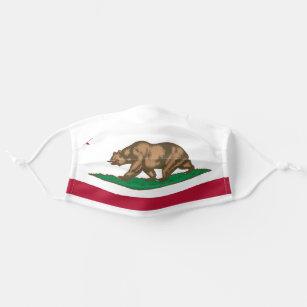California Republic state flag Cloth Face Mask