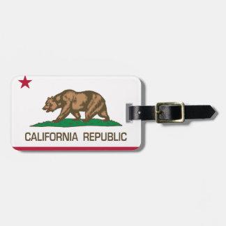California Republic (State Flag) Luggage Tag