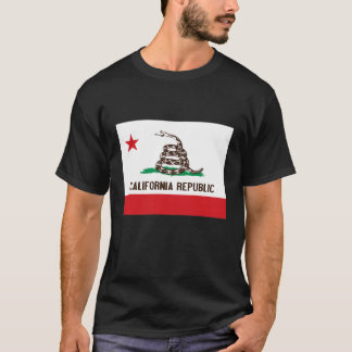 CALIFORNIA REPUBLIC STATE FLAG RATTLESNAKE T-Shirt