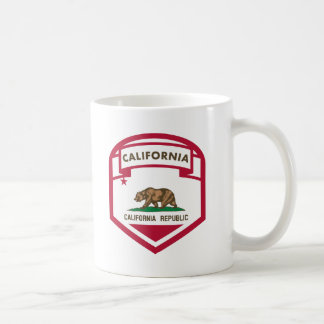 California Republic State flag shield Coffee Mug