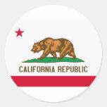 California Republic State Flag Stickers