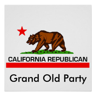 California Republican Poster