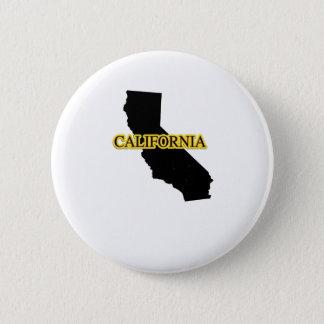 California Retro Vintage Gift  Throwback Surfs 2 Inch Round Button