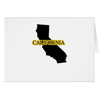 California Retro Vintage Gift  Throwback Surfs Card