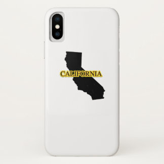 California Retro Vintage Gift  Throwback Surfs iPhone X Case
