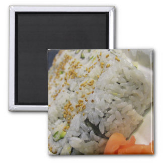 California Roll - Vegetarian Sushi Magnet