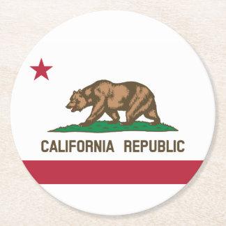California Round Paper Coaster