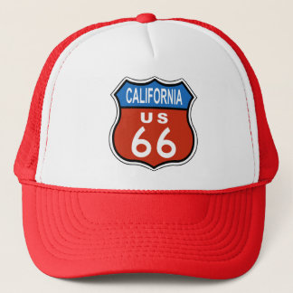 California Route US 66 Trucker Hat