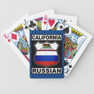 California Russian American Card Deck