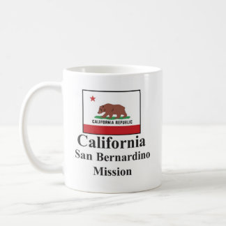 California San Bernardino Mission Drinkware Coffee Mug
