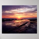 California, San Diego, Sunset Cliffs, Sunset 3 Poster