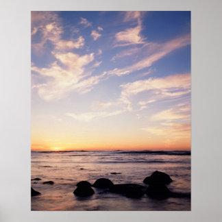California, San Diego, Sunset Cliffs, Sunset 7 Poster