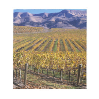 California, San Luis Obispo County, Edna Valley Notepad
