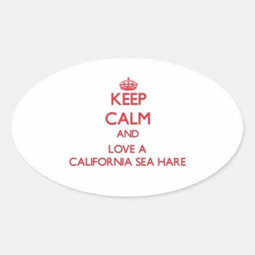 California Sea Hare Stickers