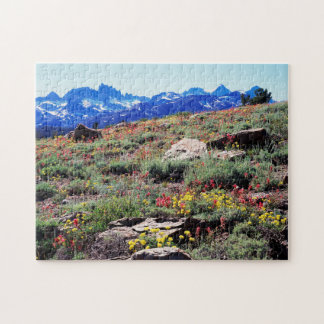 California, Sierra Nevada Mountains 1 Jigsaw Puzzle