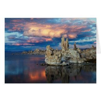 California, Sierra Nevada Mountains Card