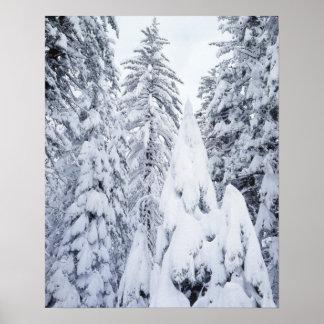 California, Sierra Nevada Mountains, Yosemite 1 Poster