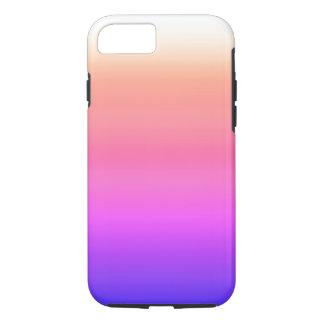 California Sky Ombre Watercolor Pink Peach Purple iPhone 7 Case