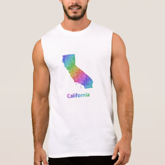 California Sleeveless Shirt