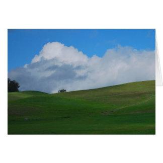 California Sonoma Wine Country Photo Greeting Card