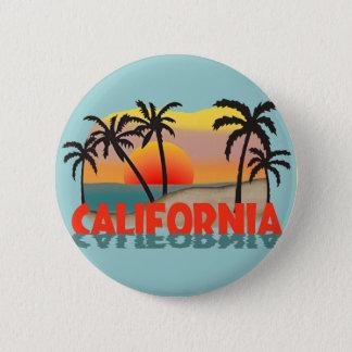 California Souvenir 2 Inch Round Button