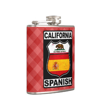 California Spanish American Hipflask Hip Flask