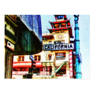 California St San Francisco by Shawna Mac Postcard