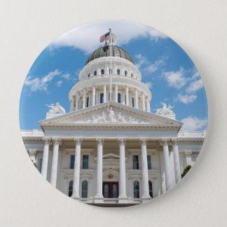 California State Capitol in Sacramento 4 Inch Round Button