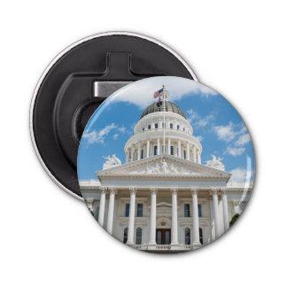 California State Capitol in Sacramento Button Bottle Opener