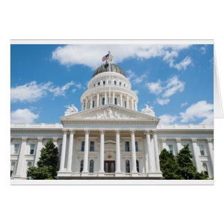 California State Capitol in Sacramento Card