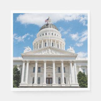 California State Capitol in Sacramento Disposable Napkin