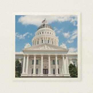 California State Capitol in Sacramento Disposable Napkins