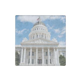 California State Capitol in Sacramento Stone Magnets