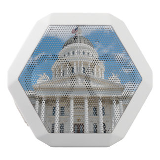 California State Capitol in Sacramento White Bluetooth Speaker