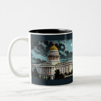 California State Capitol Moonlight Coffee Mug