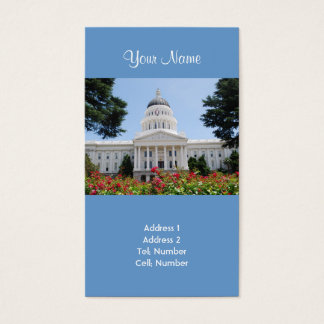 California State Capitol Sacramento Business Cards