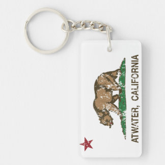 California State Flag Atwater Keychain