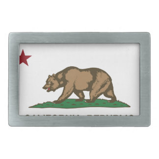 California State Flag Belt Buckle