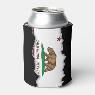 California State Flag Can Cooler