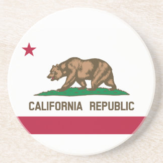 California State Flag Coasters