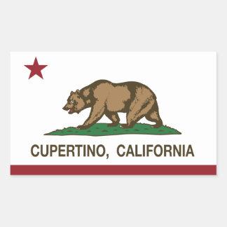 California State Flag Cupertino Sticker