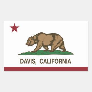 California State Flag Davis