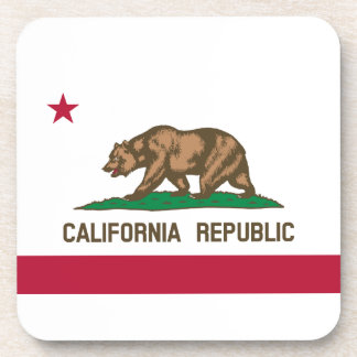 California State Flag Drink Coasters