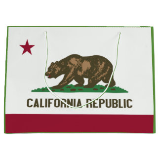 California State Flag Gift Bag
