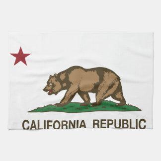 California State Flag Hand Towel